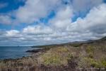 Blick über die Küste von San Cristobal