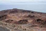 Vulkankrater und Vulkantöpfe prägen das Bild der Insel Bartolome
