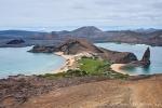 Grandioser Ausblick vom höchsten Punkt der Insel Bartolome