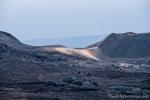 Spuren des letzten Vulkanausbruchs aus dem Jahr 2005
