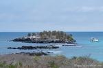 Blick von der Insel Santa Fe