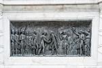Szene am Denkmal von Simon Bolivar
