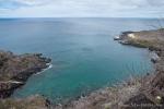 Ausblick vom Fregattvogelfelsen - San Cristobal