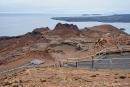 Aussicht vom höchsten Punkt der Insel Bartolome