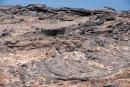 Langsam fließende Lava wird auch Pāhoehoe-Lava genannt - Insel Bartolome