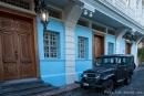 """Wie eine Filmkulisse - im """"Barrio Las Penas"""" - dem historischen Kern der Stadt Guayaquil"""