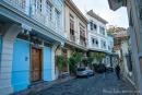 """Hübsch restaurierte Holzhäuser im """"Barrio Las Penas"""" von Guayaquil"""