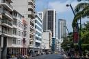 Hauptstraße im Stadtzentrum von Guayaquil