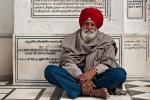 Pilger im Goldenen Tempel, Amritsar