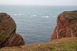 Die Steilküste ist ein beliebter Platz für viele Seevögel
