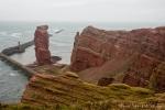 """Blick auf die """"Lange Anna"""" - das Wahrzeichen der Insel Helgoland"""