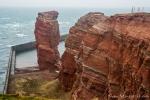 Die Lange Anna - ein 47 Meter hoher freistehender Felsen (Brandungspfeiler) auf der Nordseeinsel Helgoland