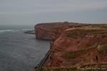 Steilküste der Insel Helgoland