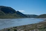 Reißender Gletscherstrom in Kangerlussuaq