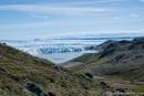 Blick auf den Russel-Gletscher