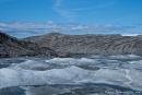 Inlandeis und Gletschermoräne - Kangerlussuaq