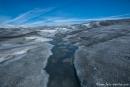 Inlandeis und Schmelzwasserbäche - Kangerlussuaq