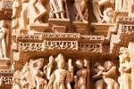 Tempelfiguren - Kahjuraho