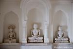 Götterstatuen im Jain-Tempel - Khajuraho