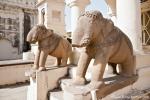 Überall Elefanten - Khajuraho