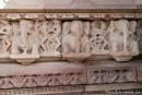 Elefantenfiguren sind überall zu finden - Khajuraho