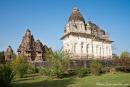 Blick auf den Varah und Vishvanatha-Tempel - Khajuraho