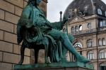 Denkmal für Ludvig Baron Holberg, einen dänisch-norwegischen Dichter