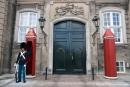 Palastwachen am Palais Moltke - Schloss Amalienborg; Kopenhagen