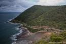 Am Teddys Lookout in Lorne hat man einen tollen Blick auf einen Abschnitt der Great Ocean Road
