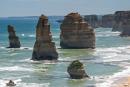 """Blick auf die Felsformationen der """"Twelve Apostles"""" im Port Campbell National Park"""