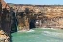 Die Natur formt ständig neue Höhlen und Durchbrüche