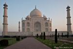 Das Taj Mahal vor dem ersten Besucheransturm