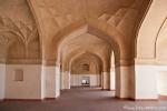 Bogengalerie in Akbars Mausoleum