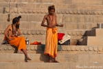 Sadhus - Heilige Männer in Varanasi