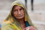 Bettlerin - Varanasi