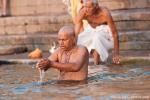 Morgengebet - Varanasi