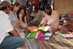 Beim Sari-Kauf