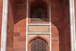 Eine der Bogennischen an Humayun`s Grabmal - Delhi