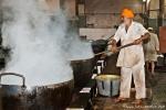 Überall brodelt und dampft es in der Garküche - Goldener Tempel, Amritsar