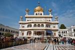 Akal Takht - der Sitz der obersten religiösen und politischen Autorität der Sikhs - Goldener Tempel, Amritsar