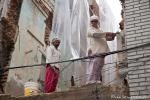 Mauerabriss mit dem Fleischklopfer - Amritsar