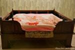 Das Bett, in dem das Heilige Buch schläft - Goldener Tempel, Amritsar