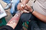 Ein kleines Kunstwerk - Henna-Malerei