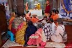 Zeremonie im Sivananda Ashram - Rishikesh