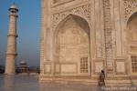 Morgens am Taj Mahal, Agra