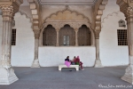 Bogengang - Red Fort, Agra