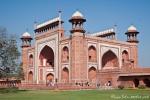 Einer der Zugänge zum Gelände des Taj Mahal - Agra