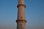 Minarett des Taj Mahal