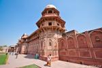Jahangiri Mahal im Red Fort, Agra