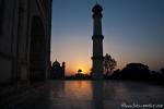 Sonnenaufgang am Taj Mahal